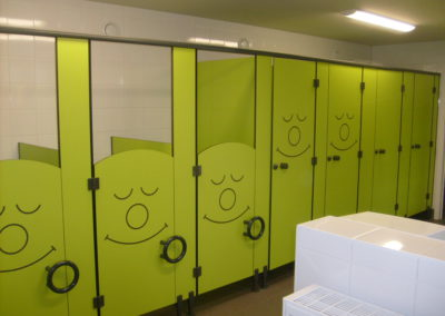 De Linde renovatie sanitair