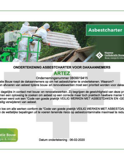 Asbestcharter ArteZ